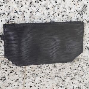 Louis Vuitton Pouchette Black Insert